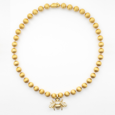 Necklace & Diamond Bee Pendant