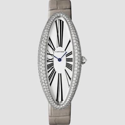 Cartier Baignoire XL White Gold and diamonds