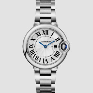 Cartier Ballon Bleu 33mm Steel Steel
