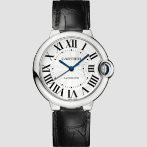 Cartier Ballon Bleu 36mm Steel & Leather