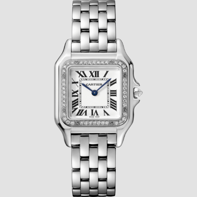 Cartier Panthere Medium white gold and diamonds