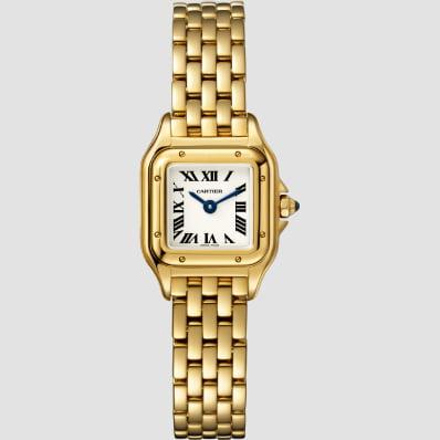 Cartier Panthere Mini Quartz Yellow Gold