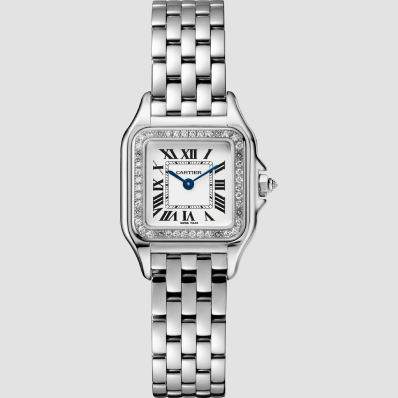 Cartier Panthere Small Quartz White Gold and Diamonds