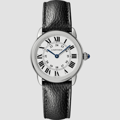 Cartier Ronde Solo 29mm Steel & Leather