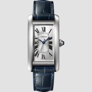 Cartier Tank American Steel & Leather