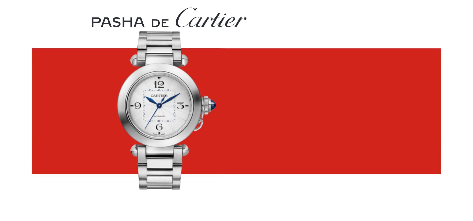 Pasha de Cartier Banner