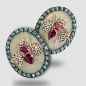 Napoleonic Bee Earrings